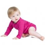 Long sleeve baby bodysuit
