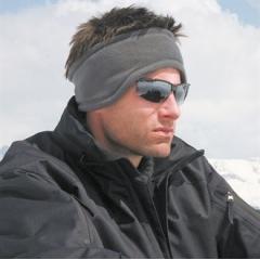 Active fleece headband