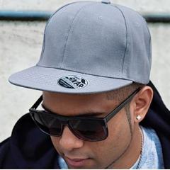 Core Bronx original flat peak-snapback cap