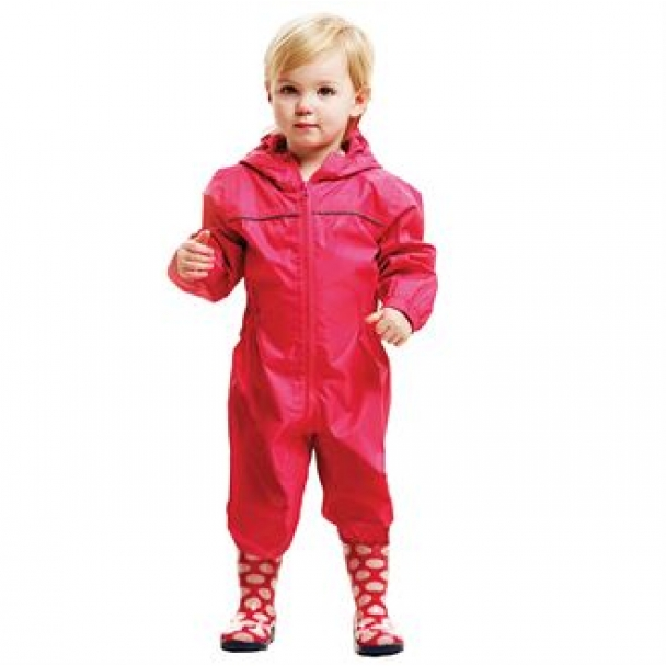 Kid's paddle rainsuit