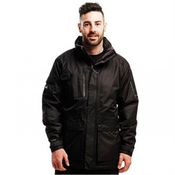 Fused point parka