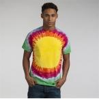 Rainbow sunburst T