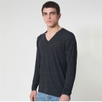 Unisex tri-blend long sleeve v-neck (TR476)