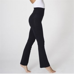 Cotton Spandex jersey yoga pant (8300)