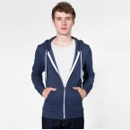 Unisex tri-blend terry zip hoodie (TRT497)