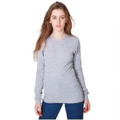Unisex baby thermal long sleeve t-shirt (T407)