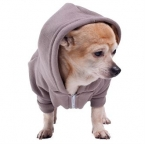Flex fleece dog zip hoodie (F997)