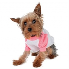 sleeve dog raglan t-shirt (BB953)