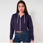 Flex fleece crop hoodie (F397)