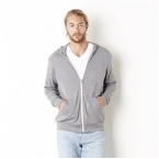 Unisex tri-blend lightweight hoodie