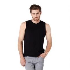 Jersey muscle tank top