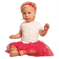 Short sleeve baby rib t-shirt