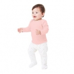 Long-sleeve baby rib t-shirt