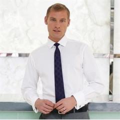 Chelford cotton slim fit shirt double cuff