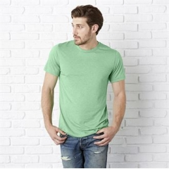 Tri-blend crew neck t-shirt