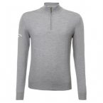 Merino 1/4 zip sweater