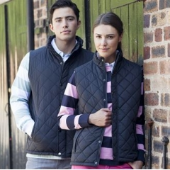 Women's Diamond quilt gilet
