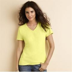 Women's premium cotton v-neck t-shirt