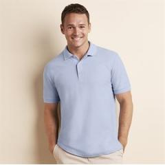 Premium cotton double pique sport shirt