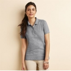 Women's premium cotton double pique sport shirt