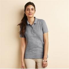 Women's premium cotton double pique sport shirt