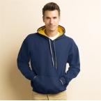 Contrast HeavyBlend hoodie