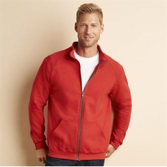 Premium cotton full zip jacket