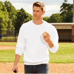 Premium cotton crew neck sweatshirt