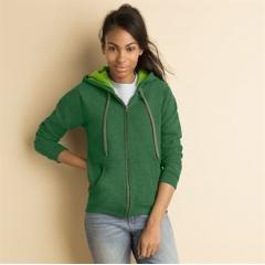 Women's HeavyBlend vintage full zip hoodie