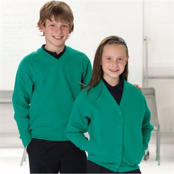 Kids v-neck sweatshirt