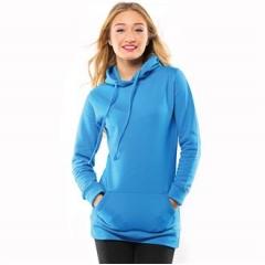 Girlie longline hoodie