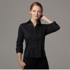 Women's bar shirt A¾ sleeved