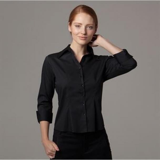 Women's bar shirt A¾ sleeved