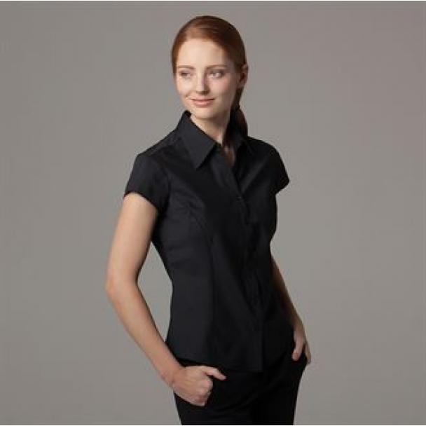 Women's bar blouse cap sleeved