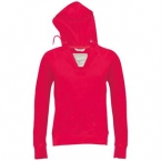 Women's long sleeve trendy hooded T