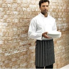 Classic stripe half apron