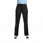 Women's flat front hospitality trouser - bootcut