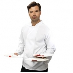 Coolmax long sleeve chef's jacket