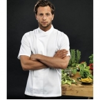 Culinary pull-on - chef's short sleeve tunic