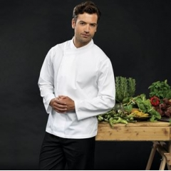 Culinary pull-on - chef's long sleeve tunic