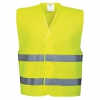 Hi-vis two band vest (C474)