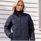 La Femme Holkham down feel jacket