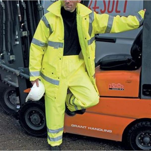Safety hi-viz trousers
