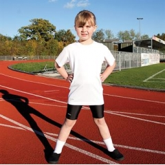 Spiro quick dry short sleeve junior t-shirt