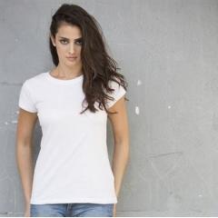 Women's slub t-shirt