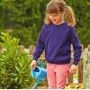 Premium 70/30 kids raglan sweatshirt