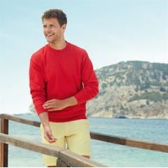 Lightweight set-in sweatshirt