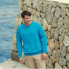 Lightweight raglan sweatshirt