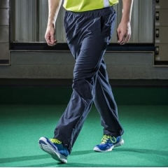 Open hem unlined training bottoms