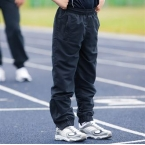 Kids lined tracksuit bottoms